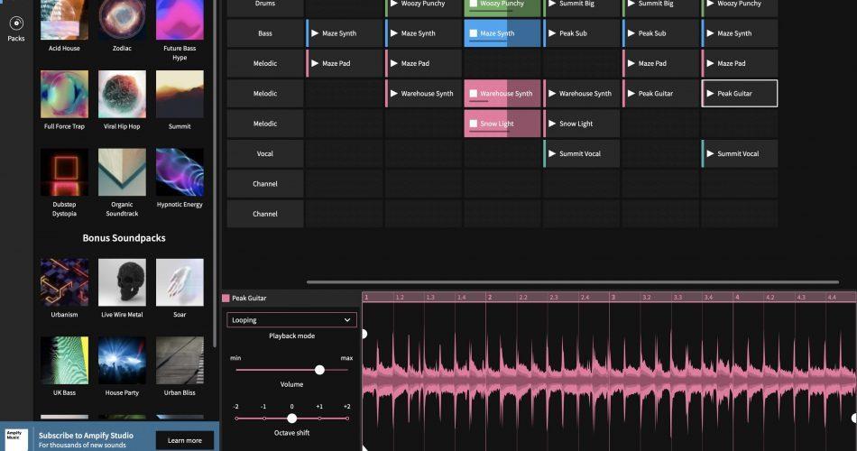 Ampify Studio UI
