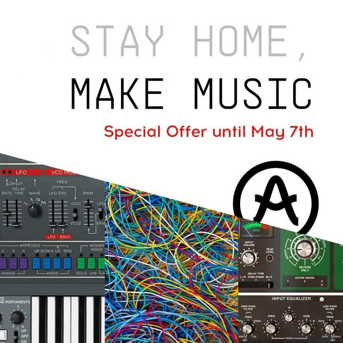 Arturia Stay Home Make Music Sale