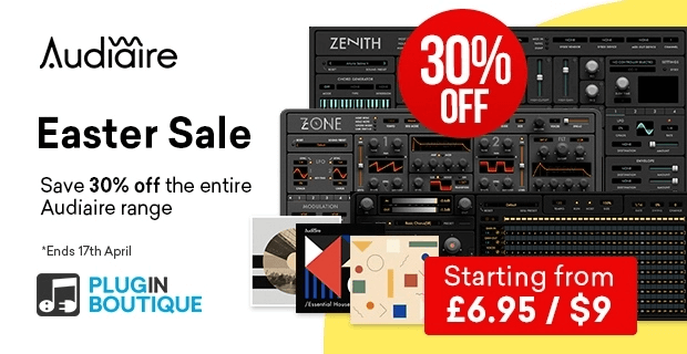 Audiaire Easter Sale