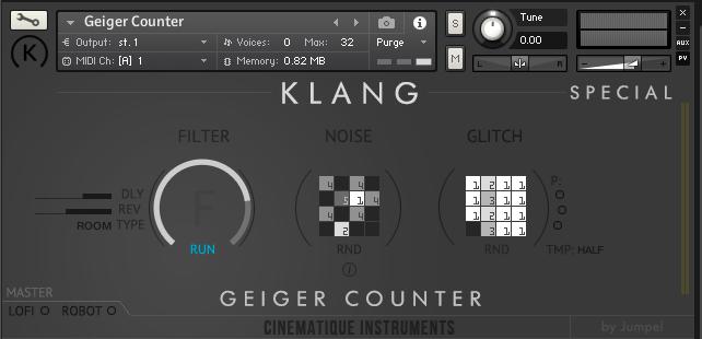 Cinematique Instruments KLANG Geiger Counter