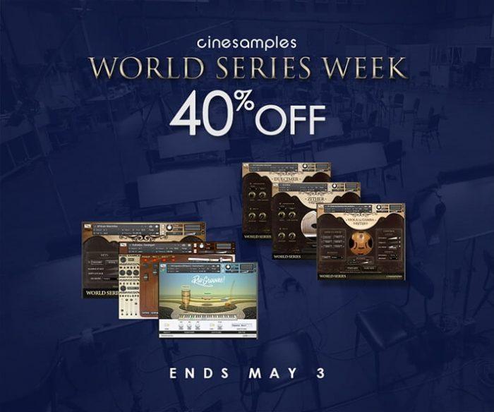 Cinesamples World Series Week