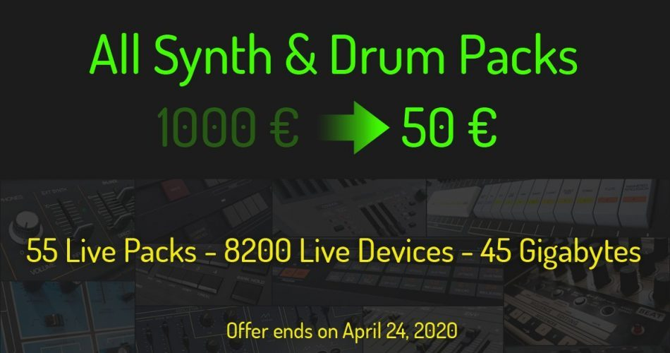 Cluster Sound All Synth Drum Packs