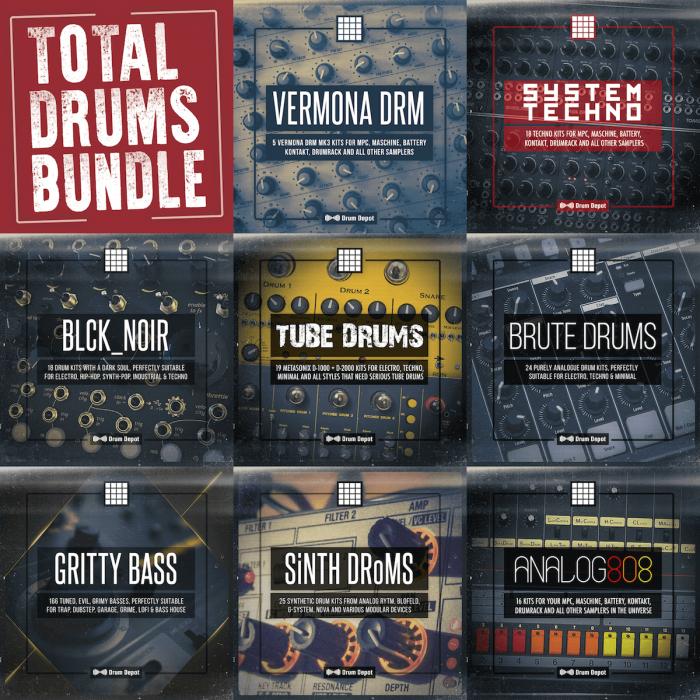 Drum Depot Total Drums Bundle