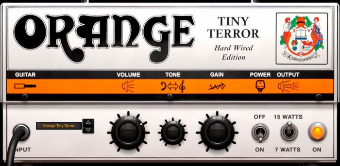 IK Orange Tiny Terror Amp