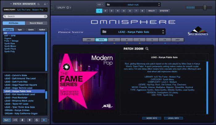 ILIO TheFame Series Modern Pop