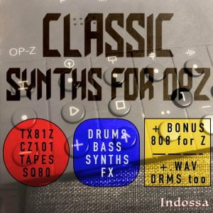 Indossa Classic Synths for OP Z