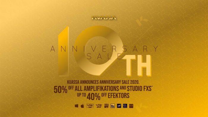Kuassa 10th Anniversary Sale