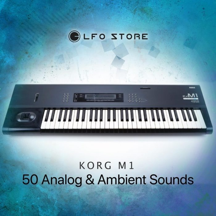 LFO Store Korg M1 50 Analog & Ambient Sounds