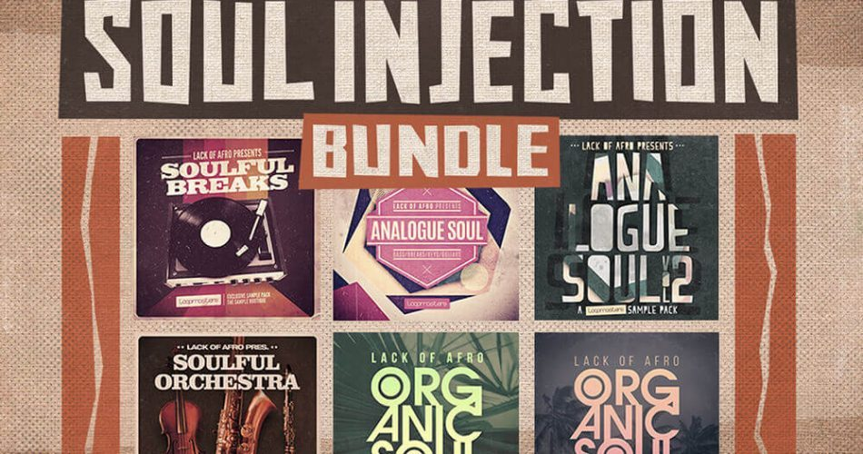Loopmasters Lack of Afro Soul Injection Bundle