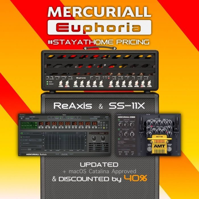 Mercuriall Audio Euphoria StayAtHome