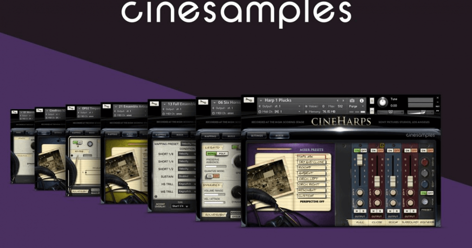 NI Cinesamples sale