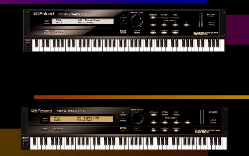 Roland SRX Piano