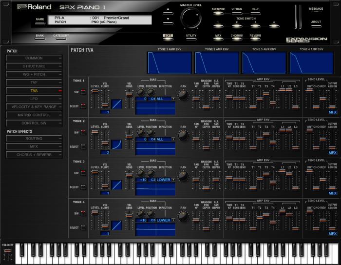 Roland SRX Piano I