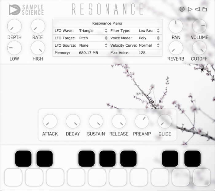 SampleScience Resonance