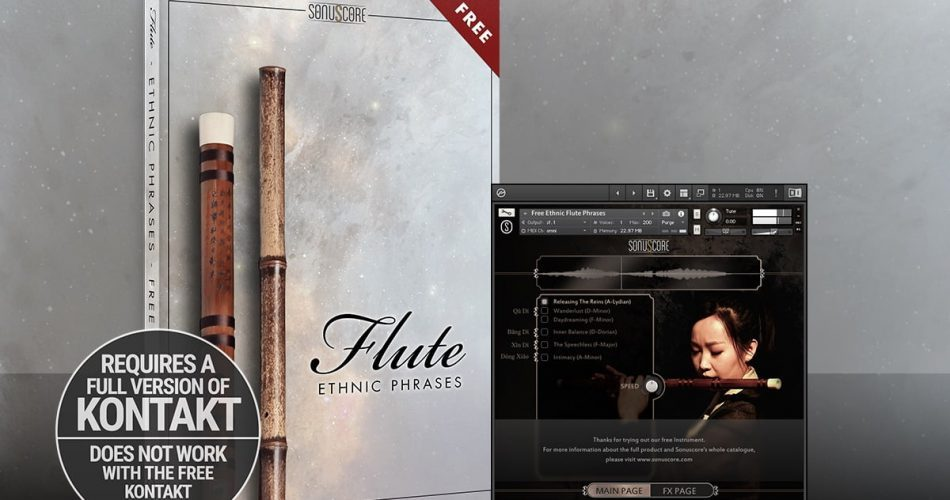 Sonuscore Free Ethnic Flute Phrases