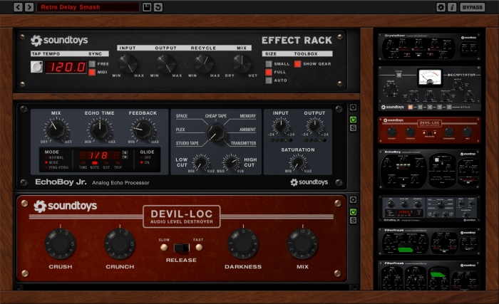 SoundToys Effect Rack FREE