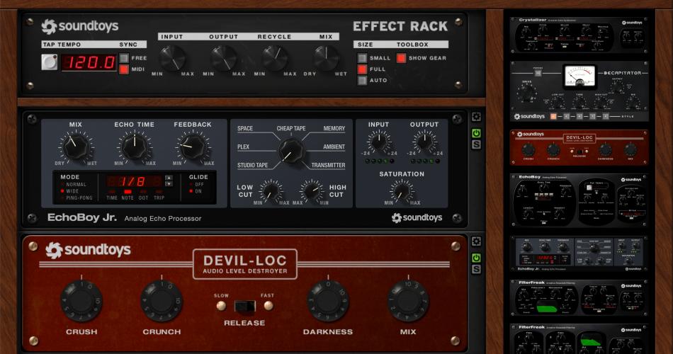SoundToys Effect Rack FREE