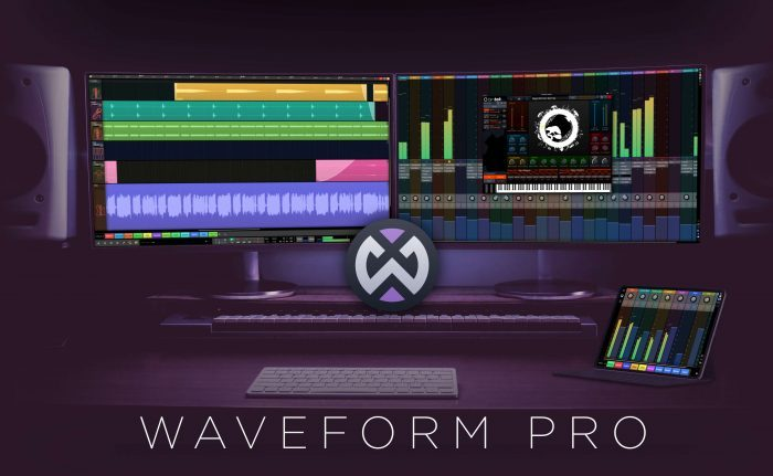 Tracktion Waveform Pro11