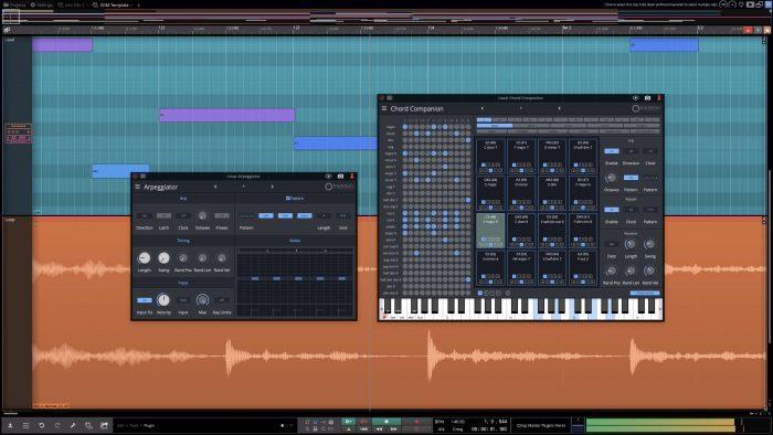 Tracktion Waveform Pro11 Arp Chord
