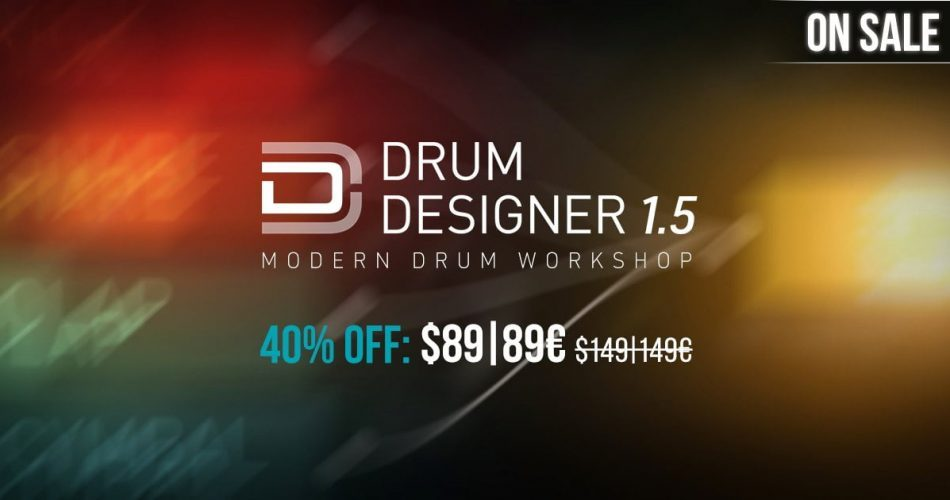UVI Drum Designer Sale
