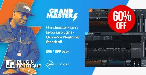 iZotope Grandmaster Flash Sale