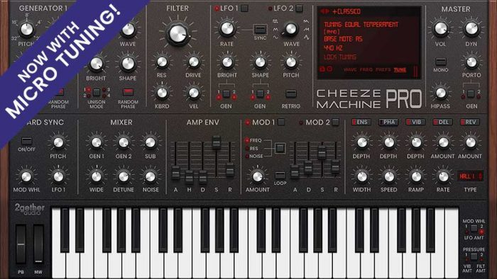 2getheraudio Cheeze Machine PRO 1.2