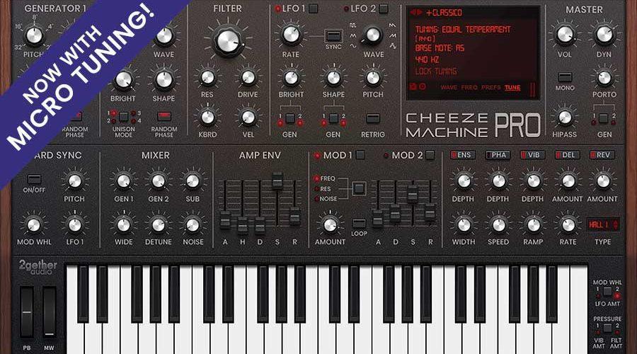 2getheraudio Cheeze Machine PRO 1.2