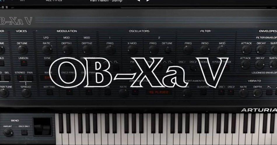 Arturia OB Xa V feat