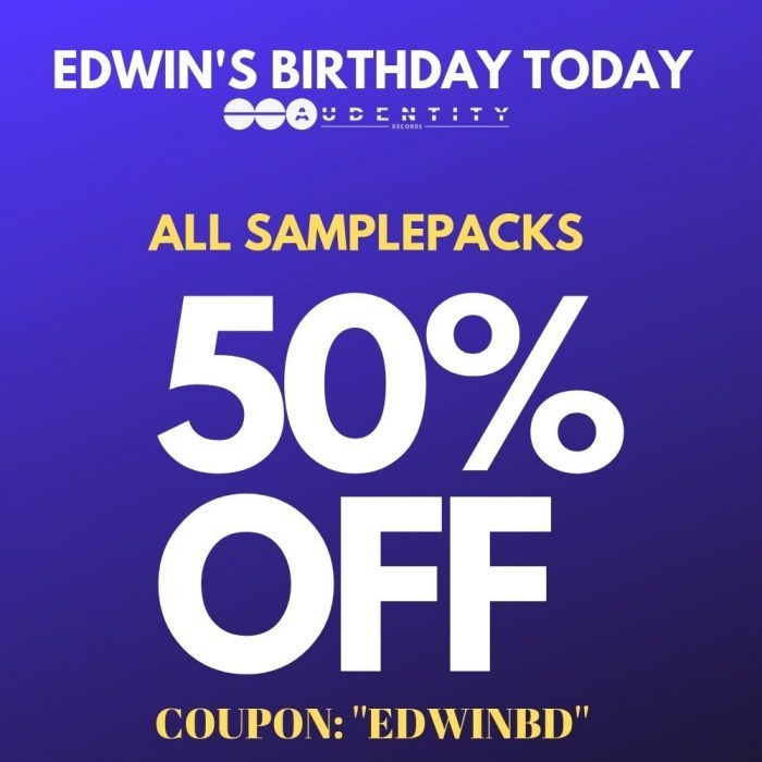 Audentity Records Birthday Sale