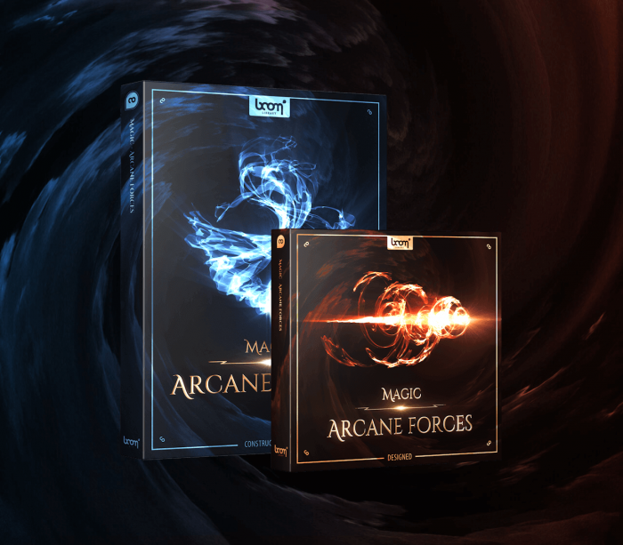 BOOM Library Magic Arcane Forces