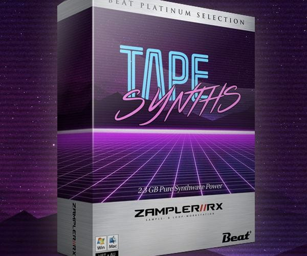 Beat Tape Synths for Zampler