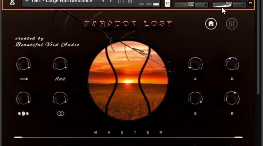 Beautiful Void Audio Paradox Lost Recux