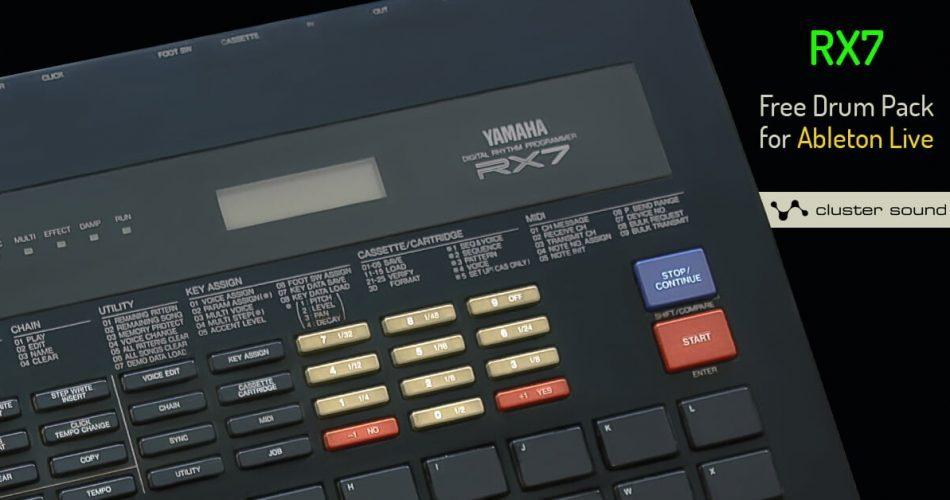 Cluster Sound RX7 Live Pack