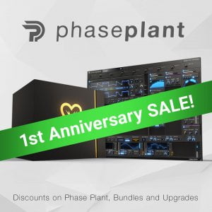 Kilohearts Phase Plant Anniversary Sale