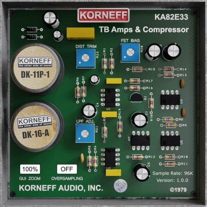 Korneff Audio Talkback Limiter back