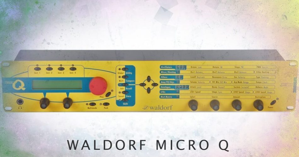 LFO Store Analog Dream for Waldorf Micro Q