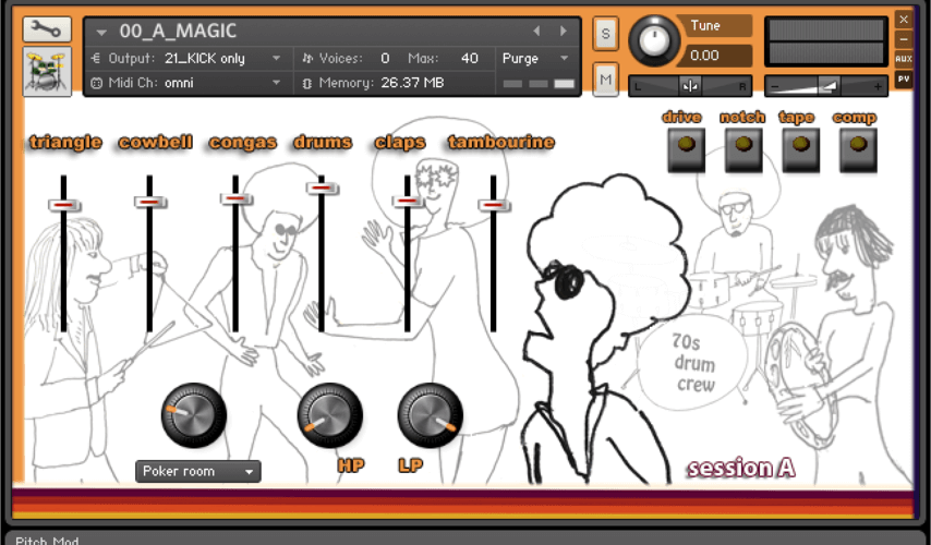 Loops de la Creme 70s Magic Drum Crew