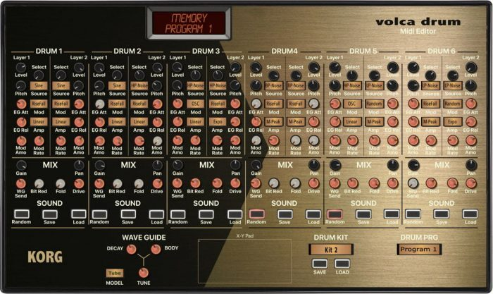 Momo korg volca drum editor and sound bank vst and standalone