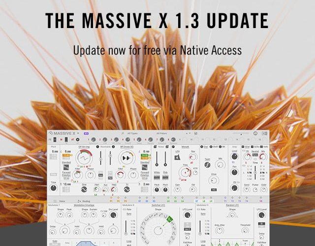 NI Massive X 1.3 update