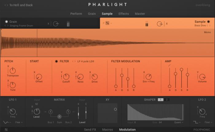 NI Pharlight sample