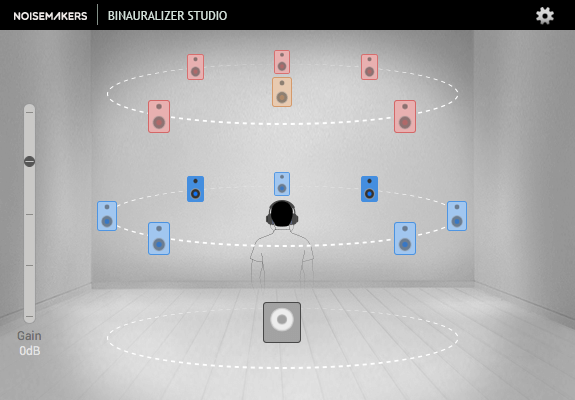 Noise Makers BinauralizerStudio