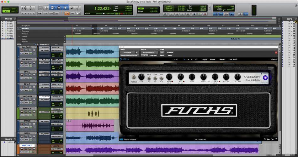 PA Fuchs Overdrive Supreme 50