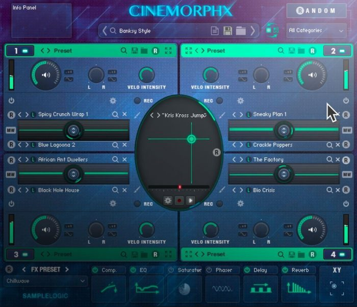 Sample Logic Cinemorphx