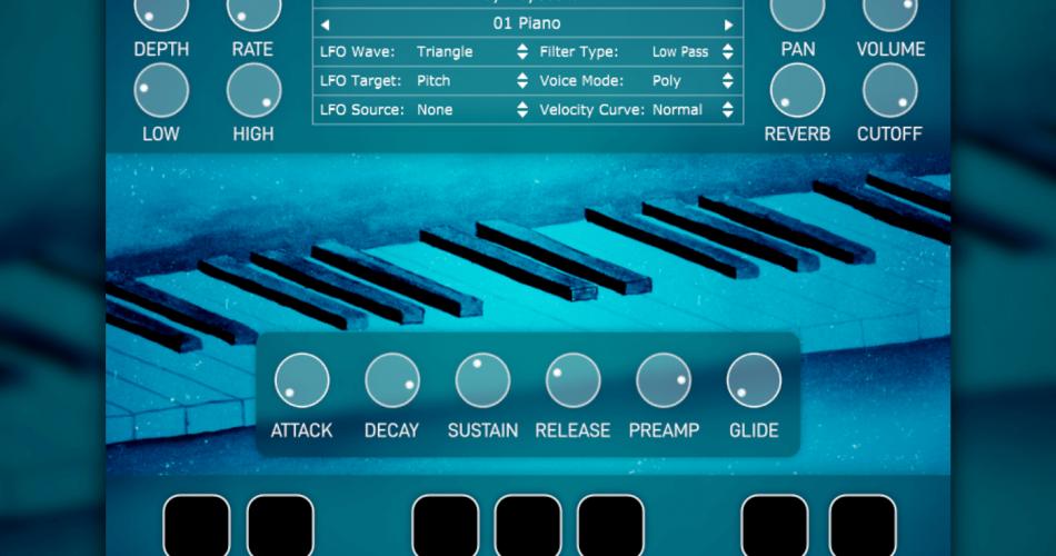 SampleScience Toy Keyboard v2