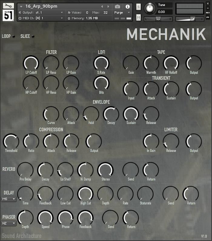 Sub51 Mechanik