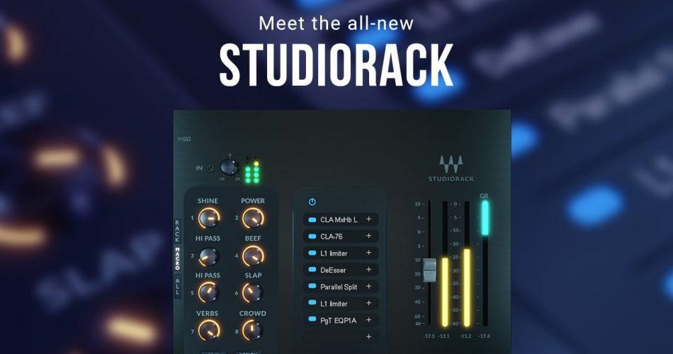 Waves StudioRack new