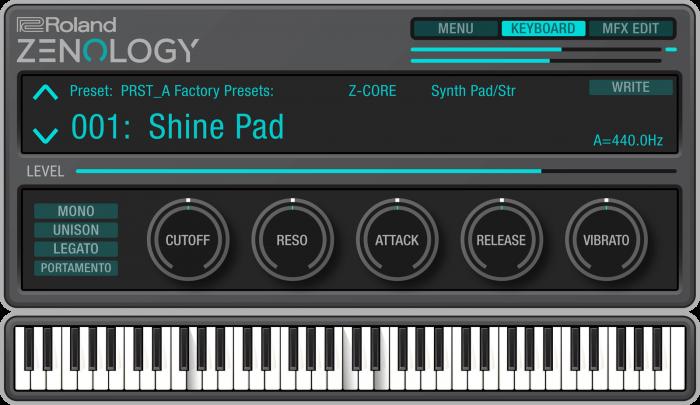 rc zenology keyboard playing