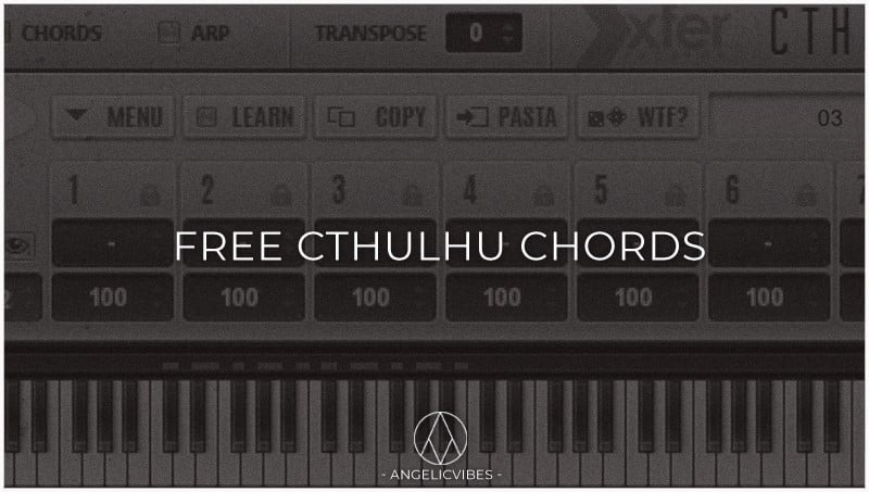 AngelicVibes Free Cthulhu Chords