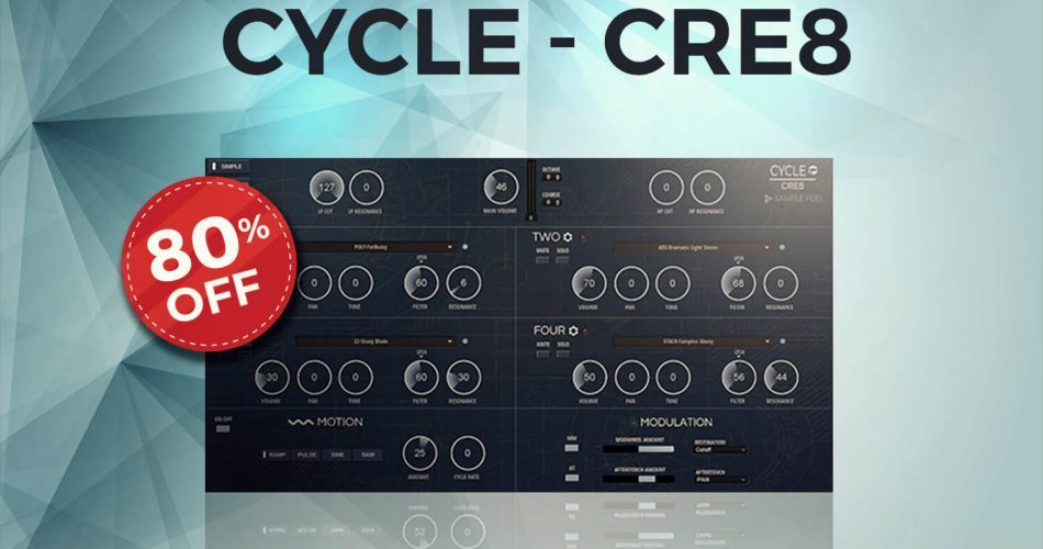 Audio Plugin Deals Sample Fuel Cycle Cre8