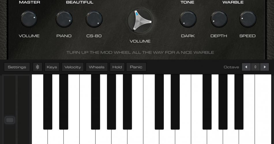 AudioKit Retro Piano